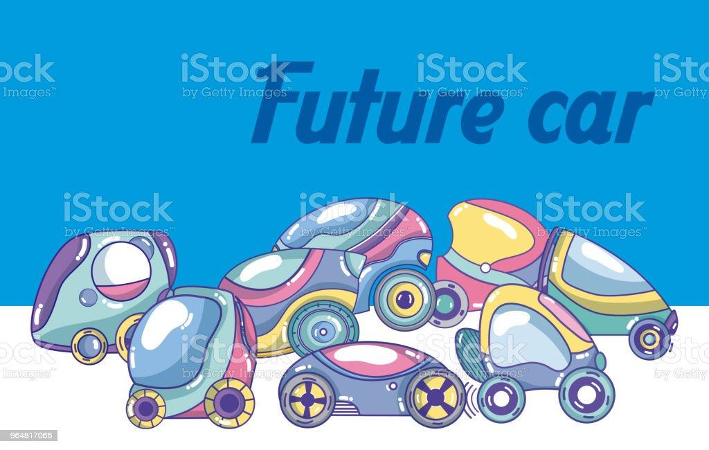 Future car cartoon royalty-free future car cartoon stock vector art & more images of above