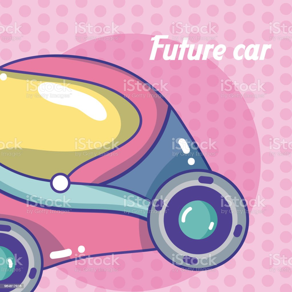 Future car vehicle concept royalty-free future car vehicle concept stock illustration - download image now
