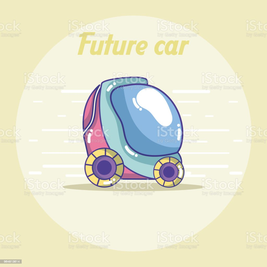 Future car vehicle concept royalty-free future car vehicle concept stock vector art & more images of above