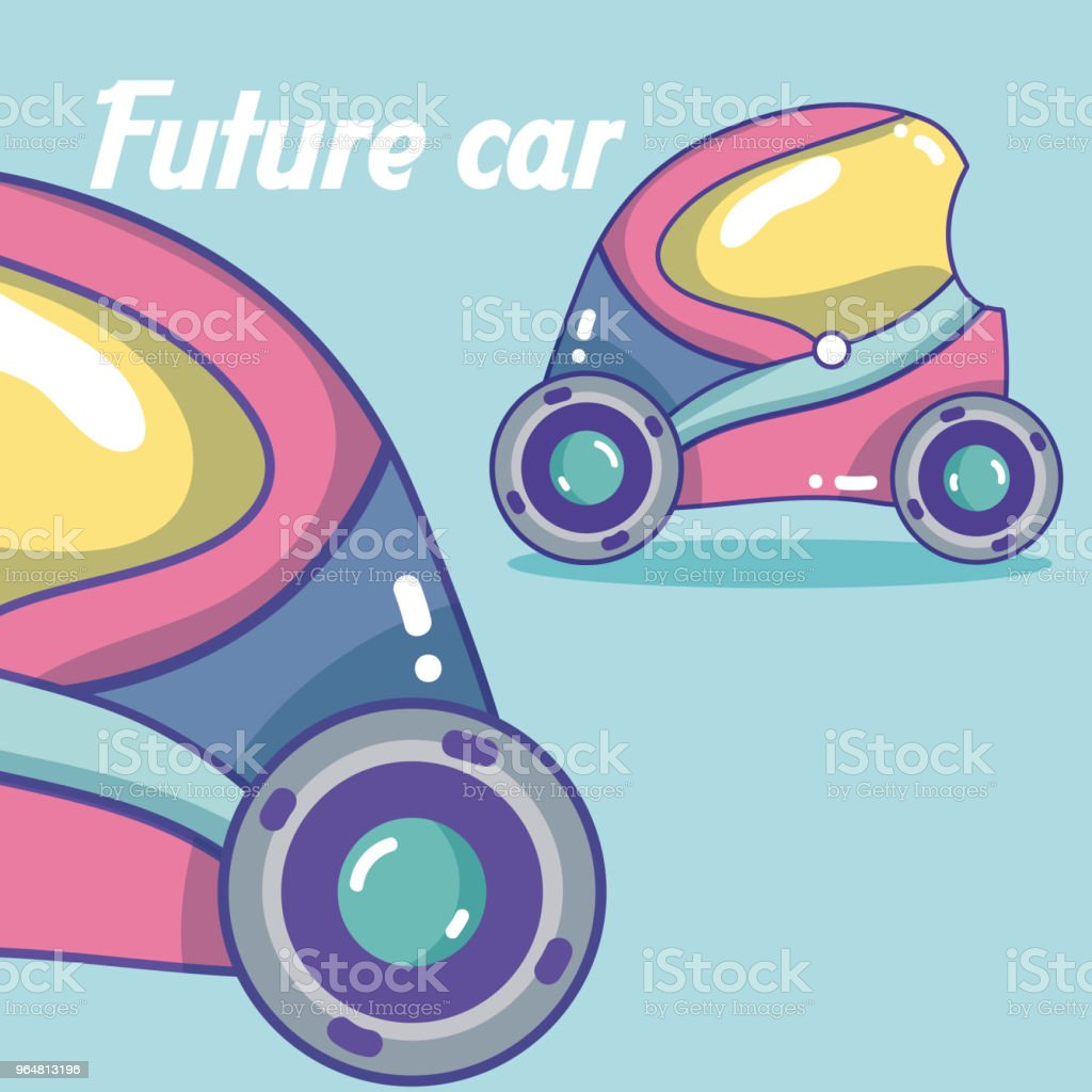 Future cars vehicle royalty-free future cars vehicle stock vector art & more images of above