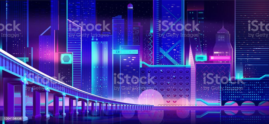 future city at night cartoon vector background stock illustration download image now istock future city at night cartoon vector background stock illustration download image now istock
