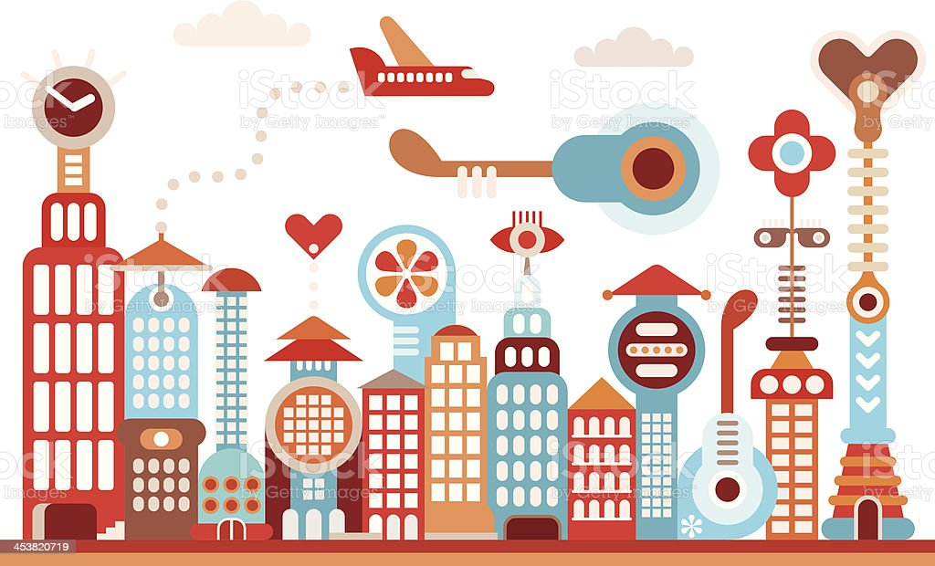 Future city royalty-free future city stock vector art & more images of abstract