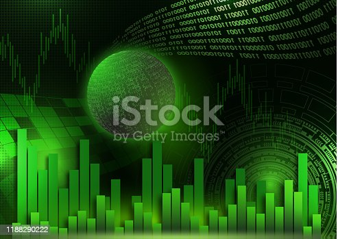 813402032istockphoto Futuristic concept of the global economy, trading, global financial technology. Economic trends, idea of business or digital network. Abstract digital background. 1188290222