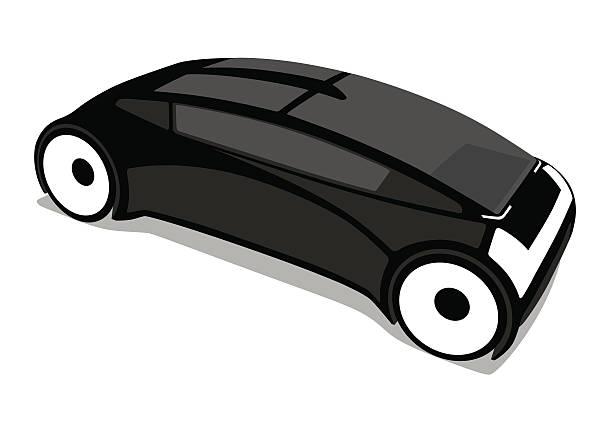 futuristic design vehicle, future car, vector illustration - freiflächen stock-grafiken, -clipart, -cartoons und -symbole