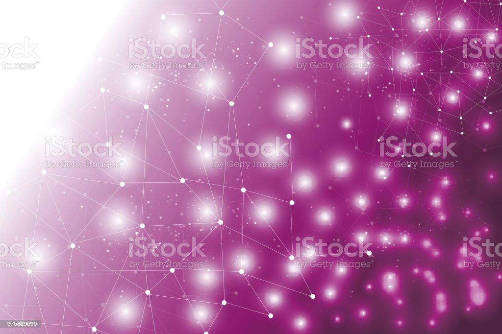 Futuristisch-Digital-Technologie-Konzept - Lizenzfrei Abstrakt Vektorgrafik