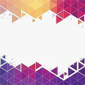 Futuristic hexagon background with copy space. JPG and Aics3 files are included.