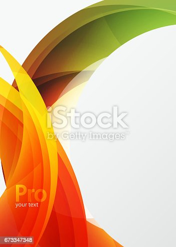 901409540istockphoto Futuristic hi-tech glass wave abstract background. Color curvy line with glossy effect 673347348