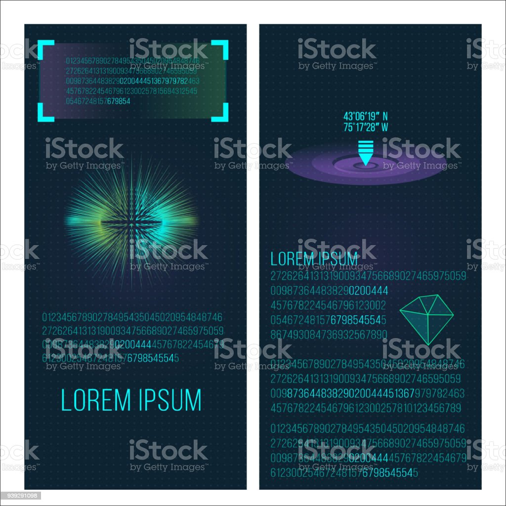 Futuristic Interface Space Motion Graphic Infographic Game And Ui Ux