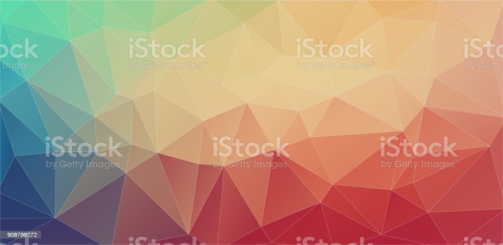 Futuristic Polygon Backgrounds vector art illustration