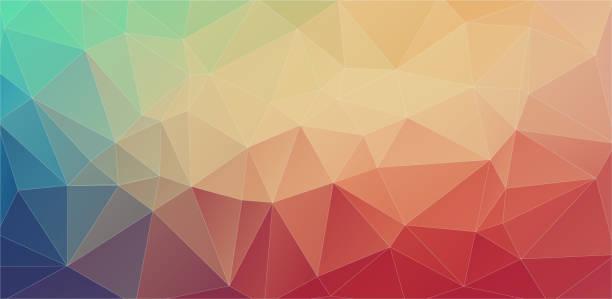 Futuristic Polygon Backgrounds vector art illustration