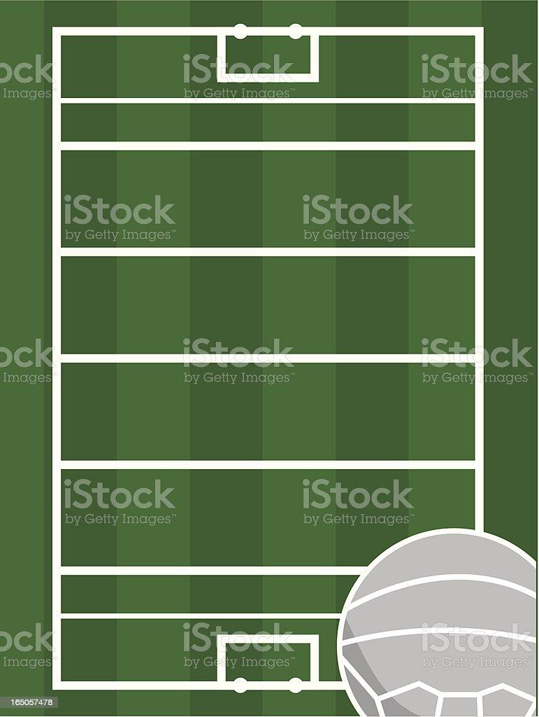 Galischer Fussball Feld Stock Vektor Art Und Mehr Bilder Von