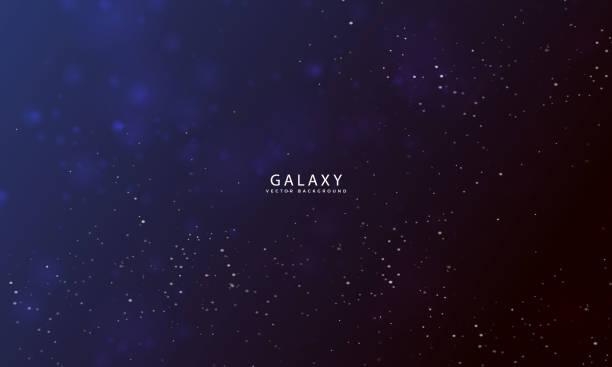 galaxy background - космос и астрономия stock illustrations