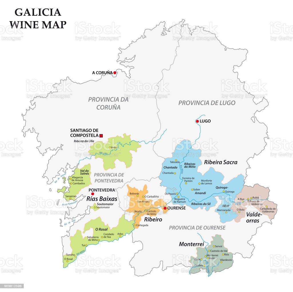 Galicia Spain Map Of The Vineyards Stock Illustration ... on pale of settlement, wallachia map, asturias map, malopolska map, catalonia espana map, rheinhessen map, galician map, picos de europa map, castilla la vieja map, la rioja map, ukraine map, carpathian mountains map, andalucia map, east prussia map, santiago de compostela map, poland election map, karachay-cherkessia map, taras shevchenko, bohemia map, duchy of warsaw, carpathian ruthenia, kingdom of galicia and lodomeria, carpathian mountains, second polish republic, spain map, norte map, catalonia france map,