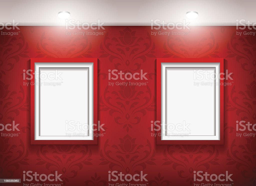 Gallery frames royalty-free gallery frames stock vector art & more images of abstract