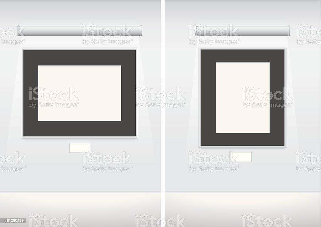 Galeriebilderrahmen Stock Vektor Art und mehr Bilder von Aktenmappe ...