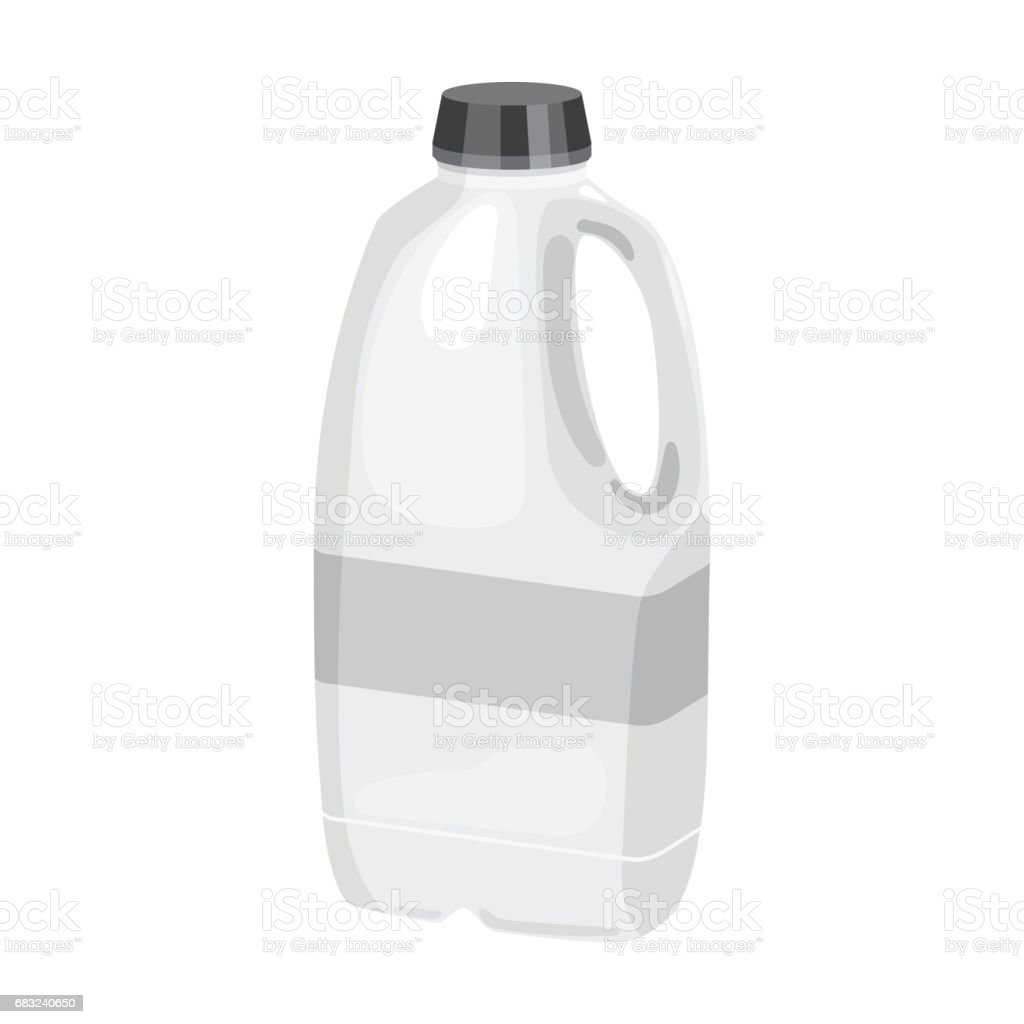 Gallon plastic milk bottle icon in monochrome style isolated on white background. Milk product and sweet symbol stock vector illustration. royalty-free gallon plastic milk bottle icon in monochrome style isolated on white background milk product and sweet symbol stock vector illustration 갤런에 대한 스톡 벡터 아트 및 기타 이미지