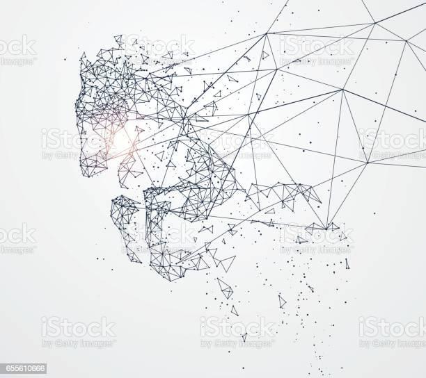 Galloping horsenetwork connection turned intovector illustration vector id655610666?b=1&k=6&m=655610666&s=612x612&h=ajcjv5glczz0n6lsarpj3zf5gcqpi5lbbpxdstxj804=