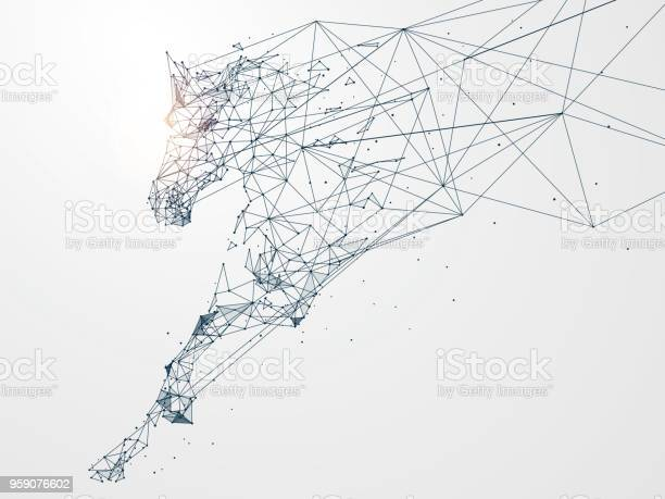Galloping horsenetwork connection turned intovector illustration vector id959076602?b=1&k=6&m=959076602&s=612x612&h=hxyyuejpwapu1uhd3rhgtes5svbgkx5vece4cr5ompo=