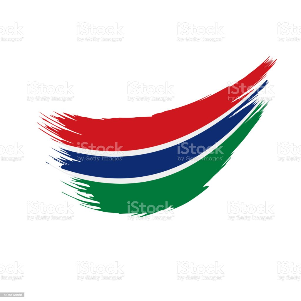 Gambia Flag, Vector Illustration Royalty Free Gambia Flag Vector  Illustration Stock Vector Art U0026amp
