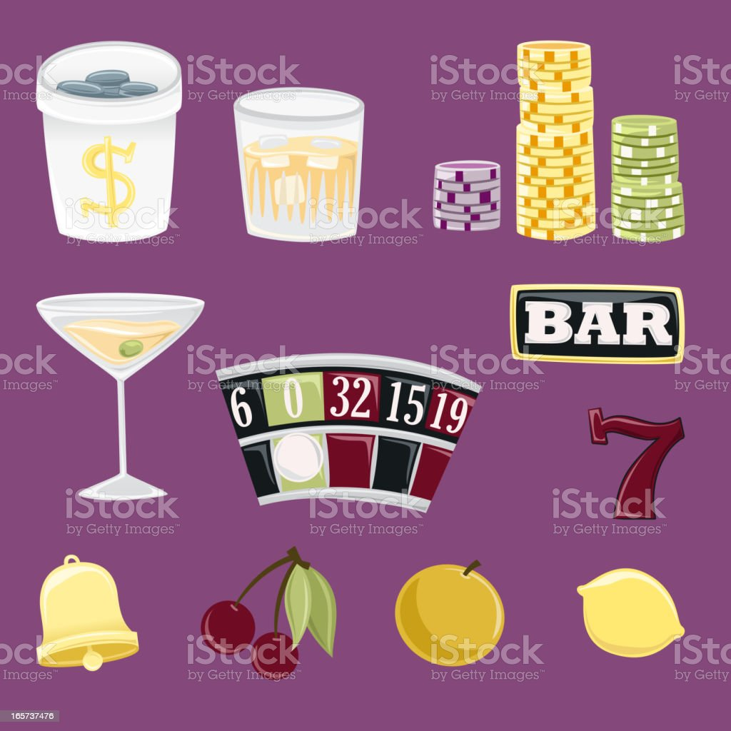 Gambling and Casino Icons royalty-free gambling and casino icons stock vector art & more images of ace