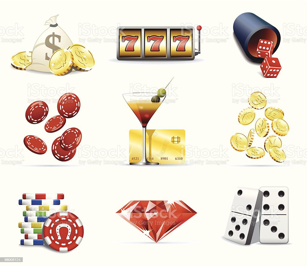 Gambling and casino icons royalty-free gambling and casino icons stock vector art & more images of alcohol