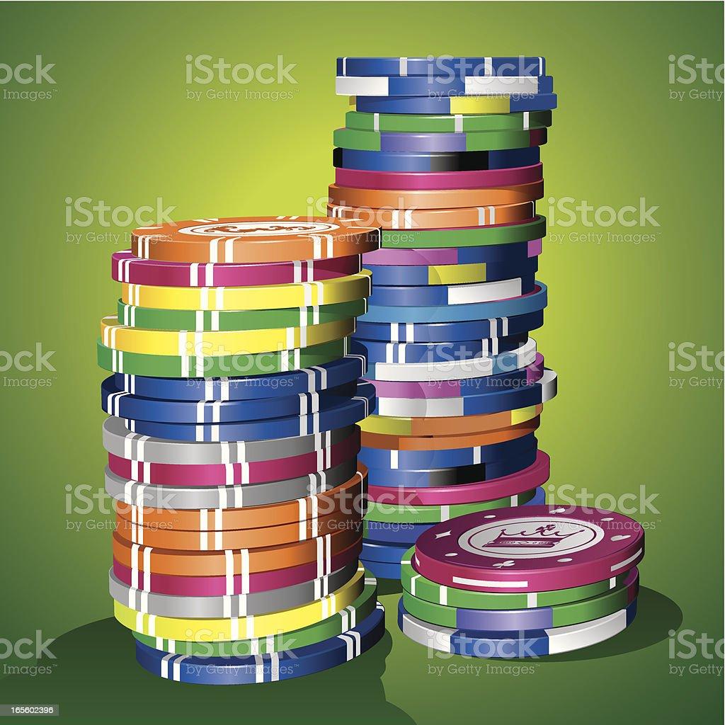 gambling chips royalty-free gambling chips stock vector art & more images of addiction