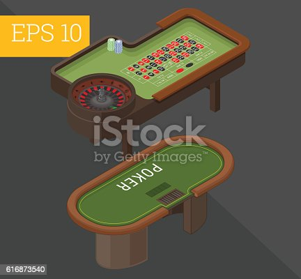 istock gambling tables isometric vector illustration 616873540