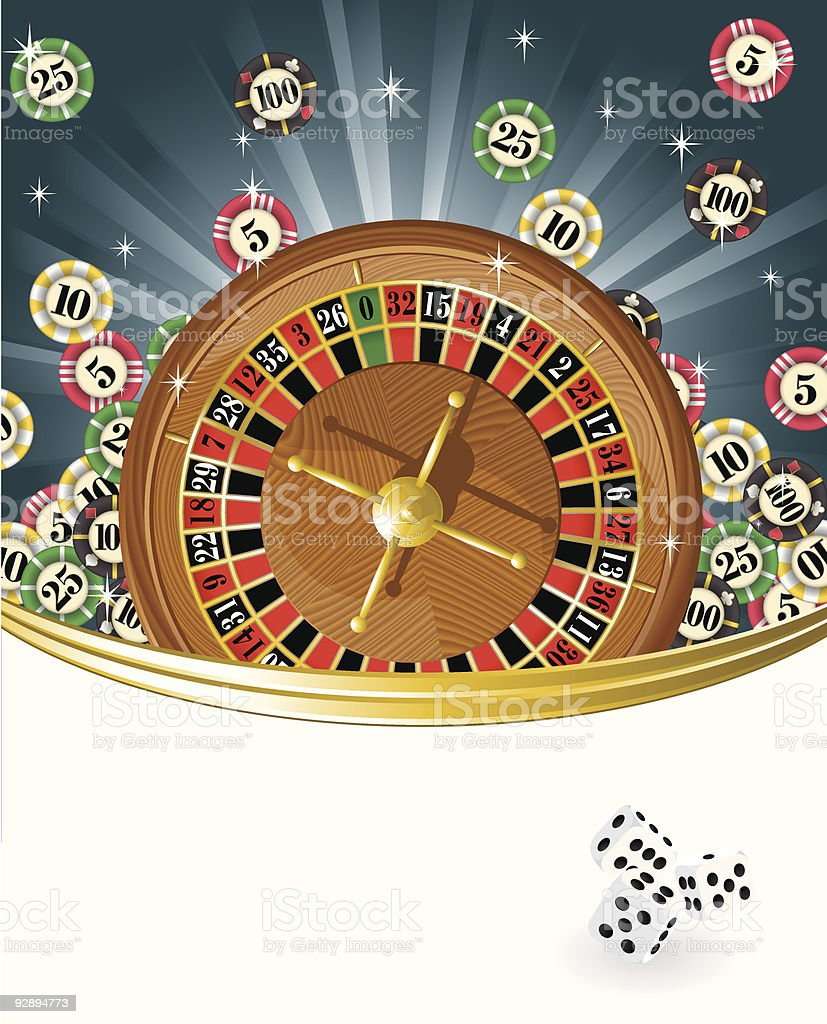 Gambling vector background. royalty-free stock vector art