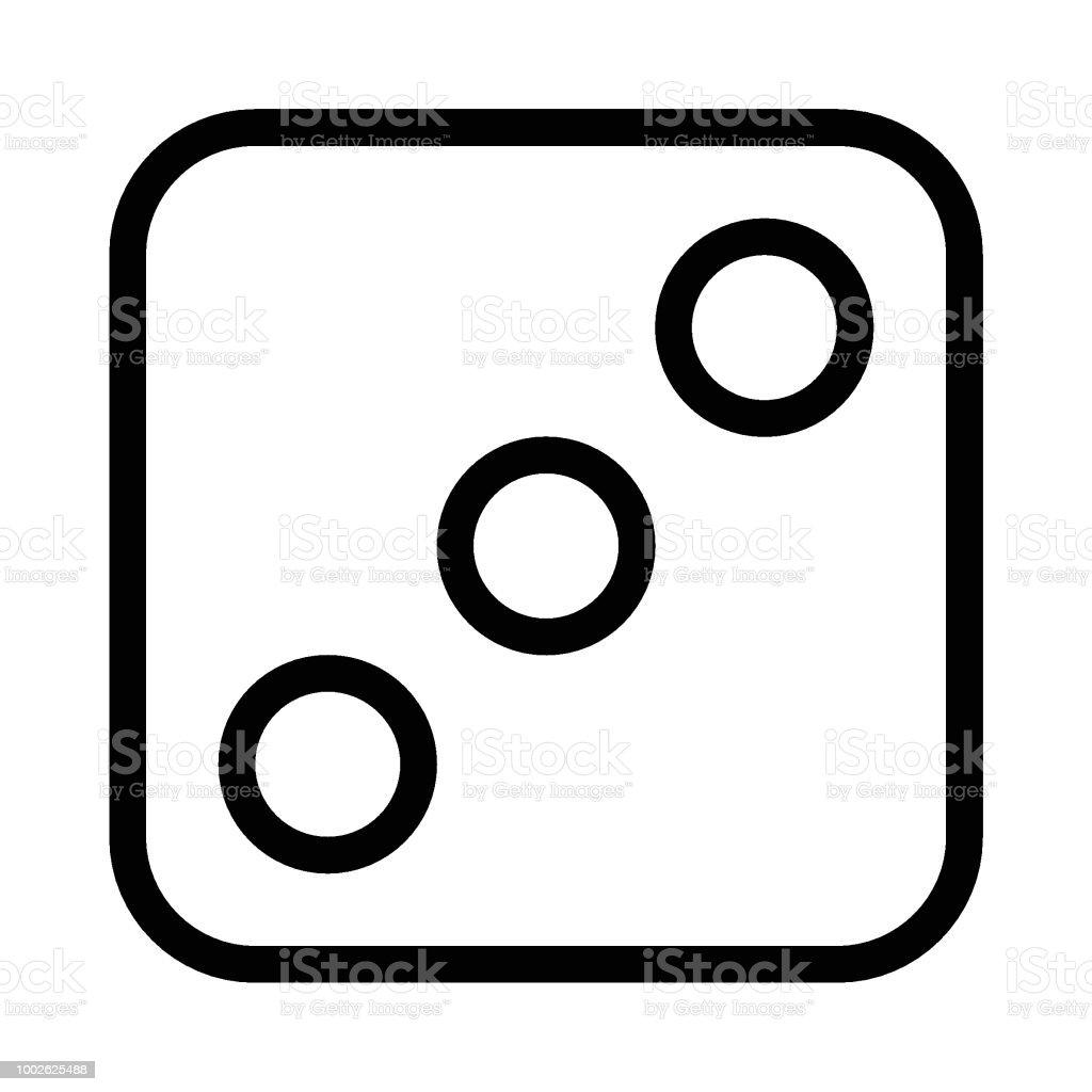 Juegos de azar - ilustración de arte vectorial