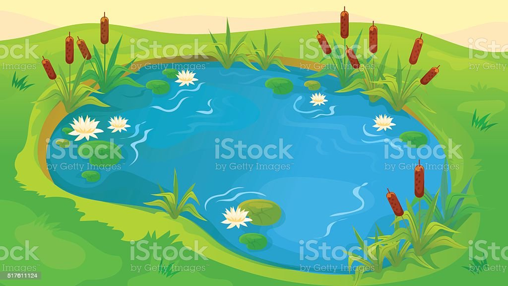 royalty free pond clip art vector images illustrations istock rh istockphoto com pond clip art free pond clip art black and white