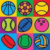 Game Ball Icons