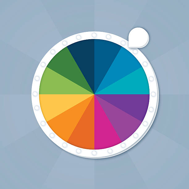 Best Game Wheel Illustrations Royalty Free Vector Graphics