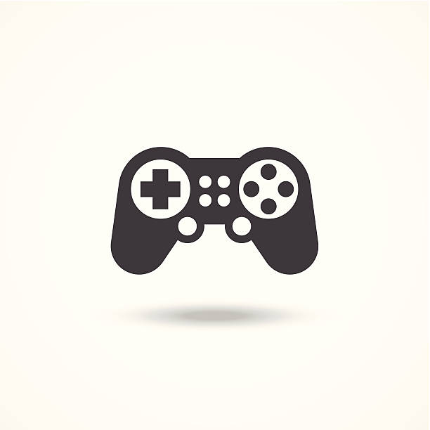 Game controller icon Game controller icon game controller stock illustrations