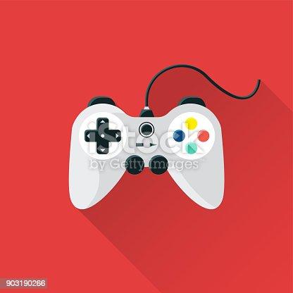 istock Game Flat Icon 903190266