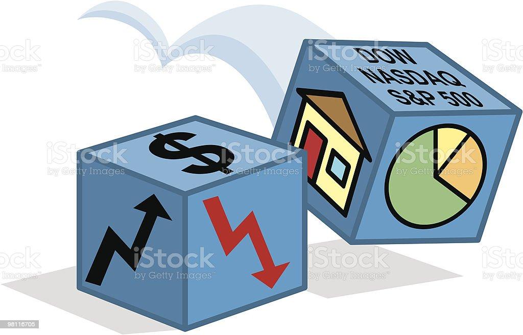 Gioco di investimento gioco di investimento - immagini vettoriali stock e altre immagini di agente immobiliare royalty-free