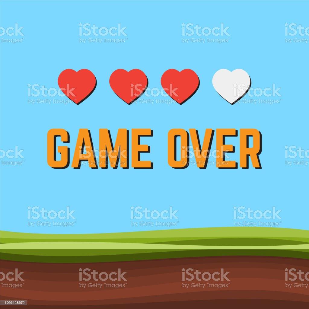 ゲーム ピクセル アート アーケード ゲーム画面ベクトル イラスト。アーケード レトロなバナー、デジタル ピクセル 8 ビット ベクターアートイラスト