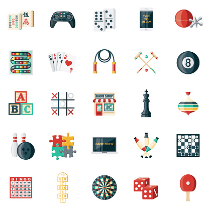 Game Shop Icon Set