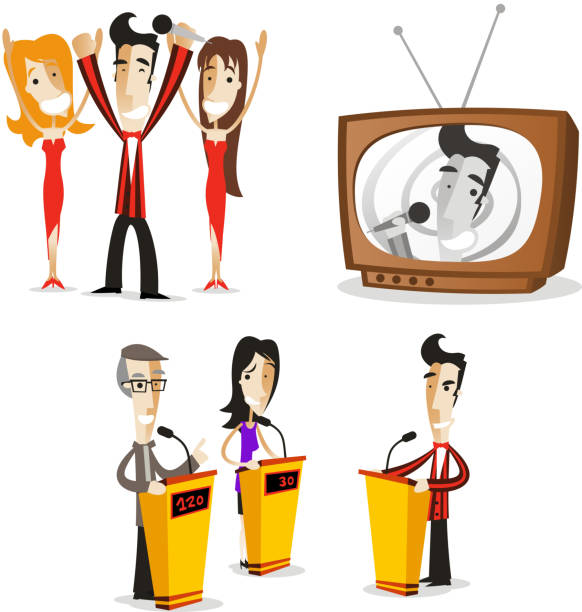 Royalty Free Game Show Clip Art, Vector Images ...