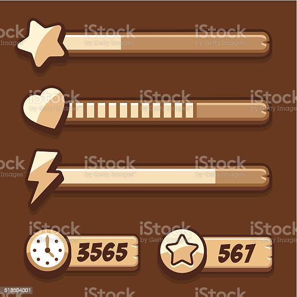 Game swooden energy time progress bar icons set vector id518504001?b=1&k=6&m=518504001&s=612x612&h=ysn2dbesdk8wsj1kpd5or2emdob6fwdmf2piopc25dc=