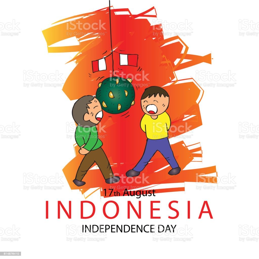 royalty free indonesia independence day clip art vector images rh istockphoto com independence day free clip art israel independence day clipart free