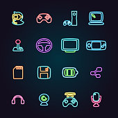 The vector files of game icon set.