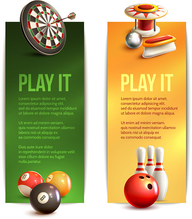game vertical banners