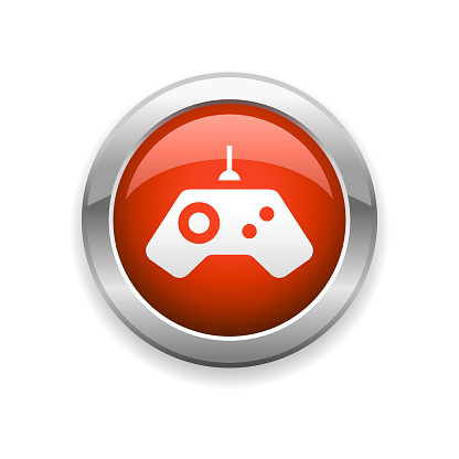 Gamepad and Controller Glossy Icon