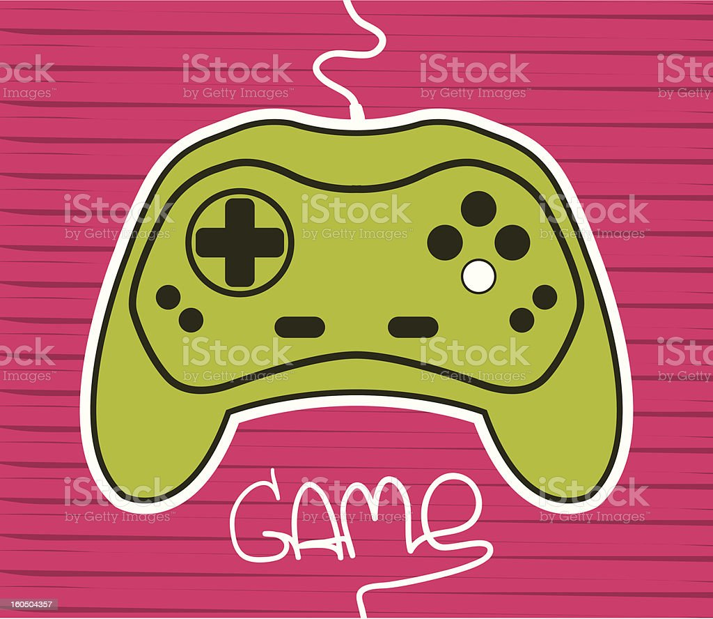 gamepad royalty-free stock vector art