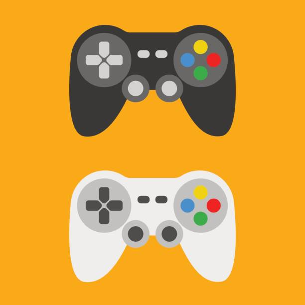 Gamepad Gamepad game controller stock illustrations