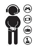 Gamer Sketch