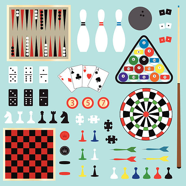 Royalty Free Board Game Pieces Clip Art Vector Images