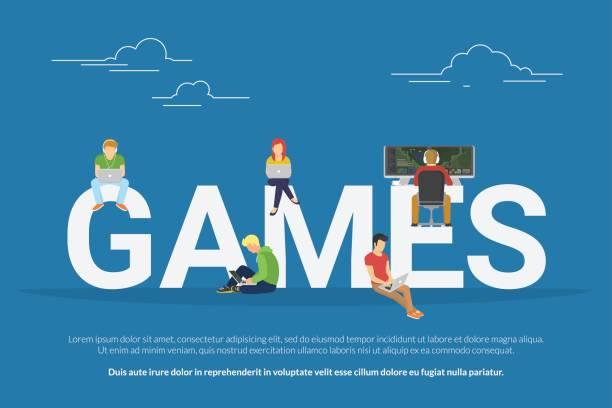 ゲームの概念図 - 高校スポーツ点のイラスト素材/クリップアート素材/マンガ素材/アイコン素材