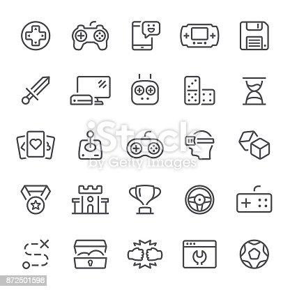 Video game, leisure games, icons, joystick, gamepad, icon
