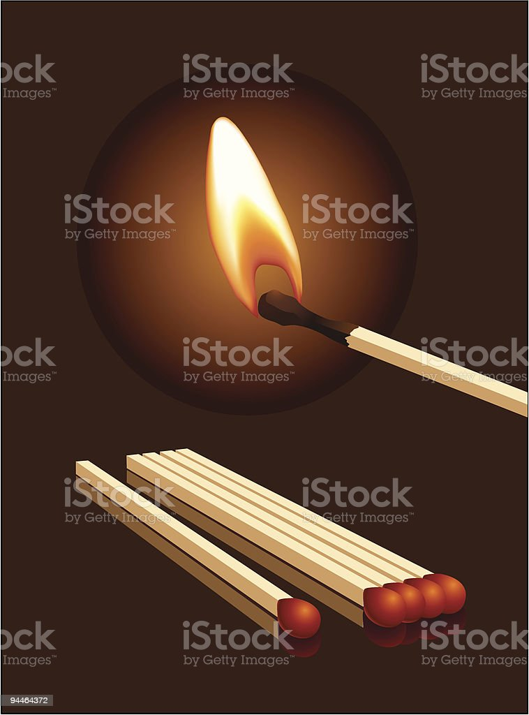 matchs royalty-free matchs stock vector art & more images of burning
